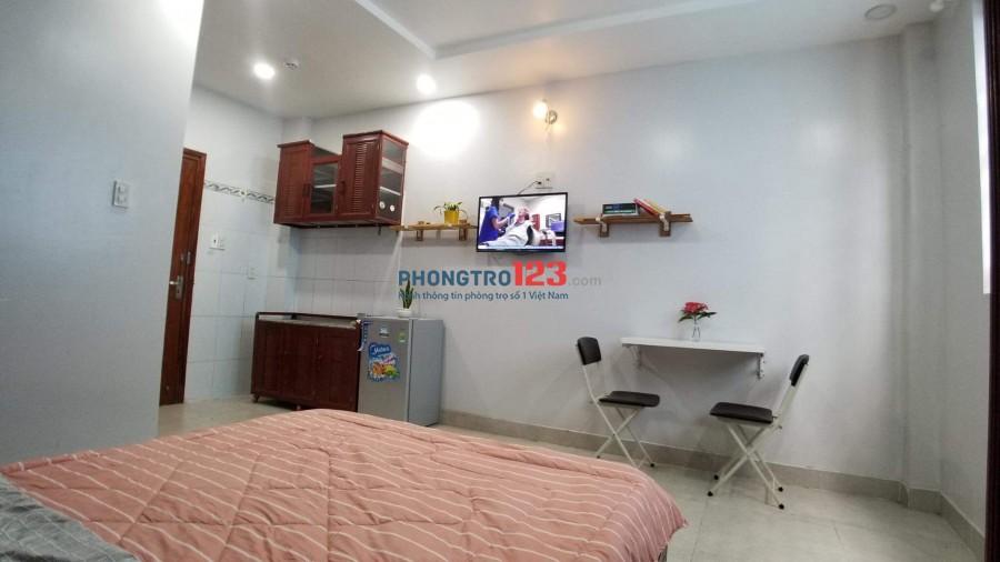 Căn hộ mini đầy đủ nội thất - Phòng mới sạch sẽ thoáng nát an ninh