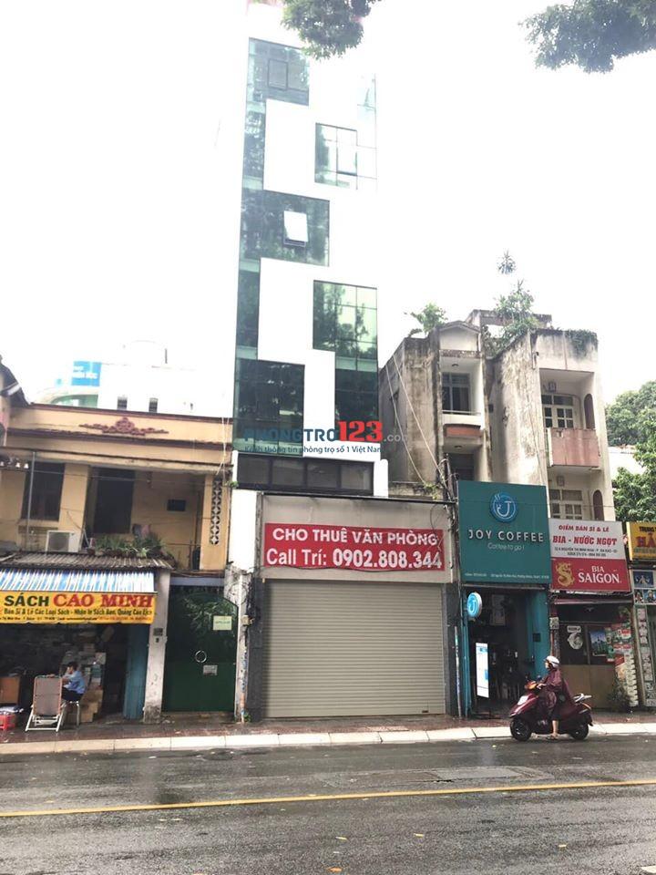 Cho thuê nhà nguyên căn mặt tiền đường Nguyễn Thị Minh Khai