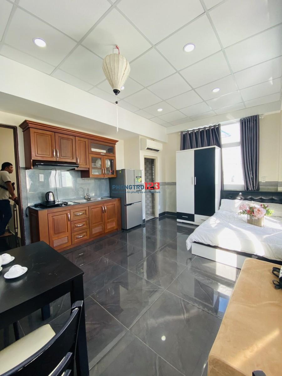 Cho thuê căn hộ dịch vụ, full nội thất, giá ưu đãi mùa dịch