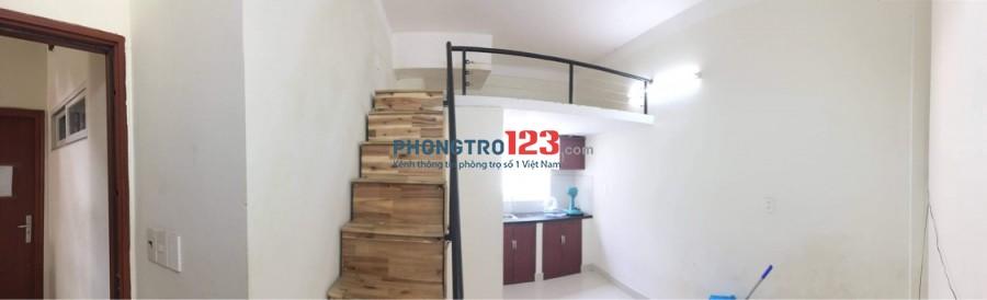 Phòng trọ cao cấp giá rẻ có gác lửng, cửa sổ to, bếp riêng, toilet riêng