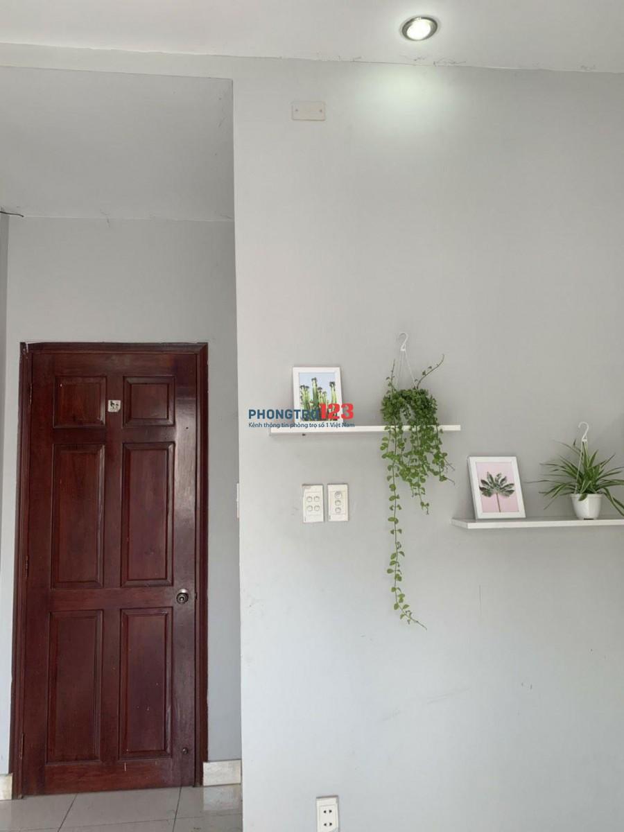 Phòng ở Gò Vấp, diện tích 25 met vuông, có ban công, nội thất cơ bản
