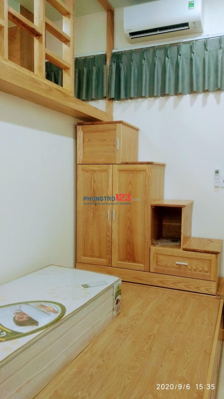 Phòng mới xây, đầy đủ nội thất, giảm giá 2 tháng đầu tiền trọ