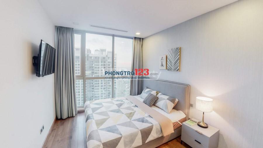 Cho thuê các căn hộ Vinhomes Central Park giá rẻ nội thất mới tinh đẹp mới làm