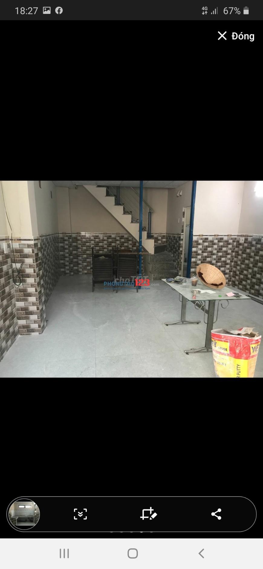 Cho thuê nhà nguyên căn HXH Tân Cảng, 2lầu, 2PN, 2WC, Bình Thạnh, cho thuê nhanh 10tr.