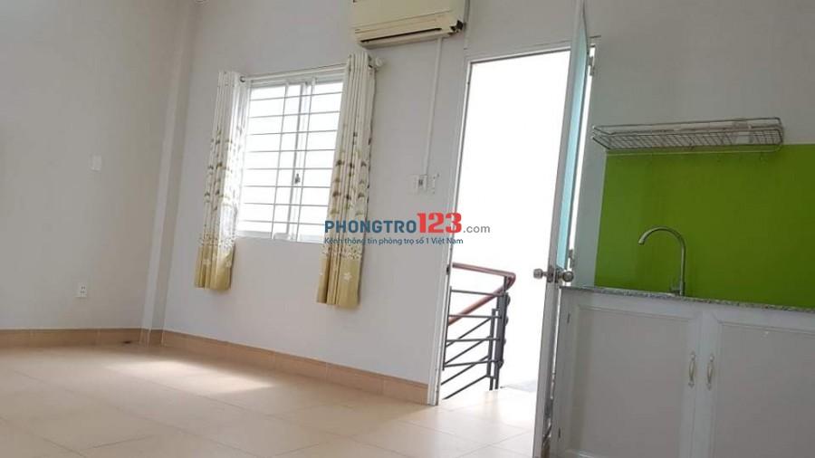 Chính chủ cho thuê phòng đẹp có máy lạnh Gần Cầu Kênh Tẻ Q4 cách Mặt tiền chính 10m