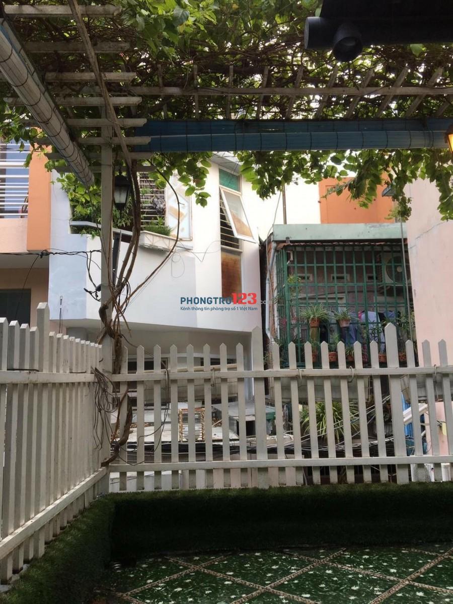 Cho thuê nhà nguyên căn giá rẻ 1 lửng 1 lầu 50m2 tại hẻm 101 Nguyễn Văn Đậu P5 Q BThạnh