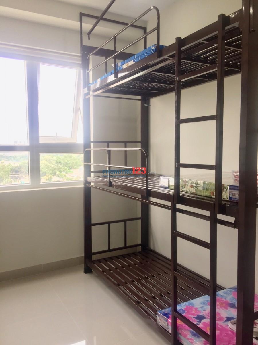Ktx nữ cao cấp chỉ 1tr1/tháng ở quận 8. Bên cạnh trường đại hoc Công nghệ Sài Gòn