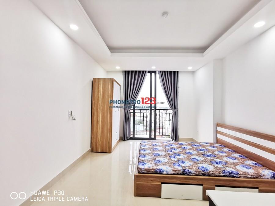 Phòng trọ giá rẻ - Gần KCX Tân Thuận, Nt cơ bản, Có thang máy Mới xây 100%
