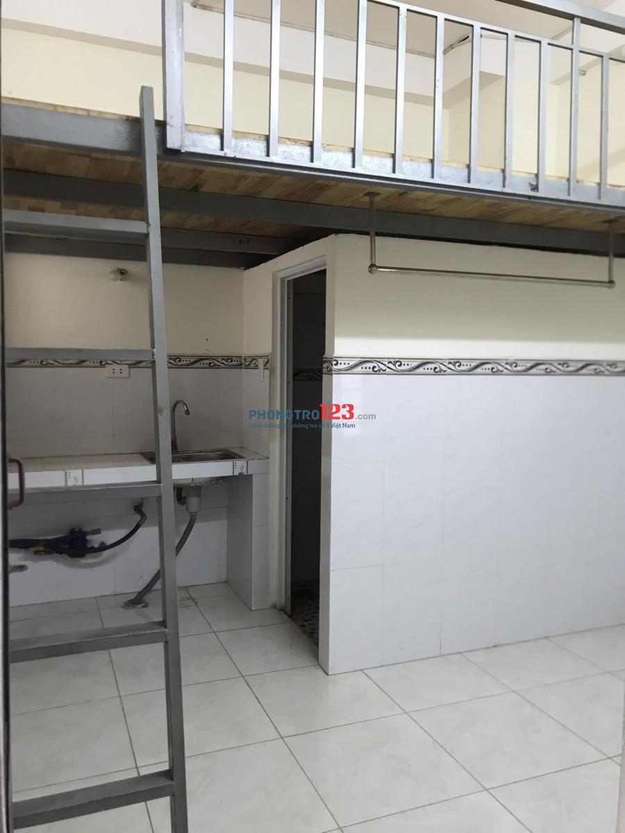 Phòng mới xây có gác mặt tiền đường Sơn Kỳ, ngay Aeon Tân Phú. có máy lạnh, giờ tự do ,bảo vệ 24/7