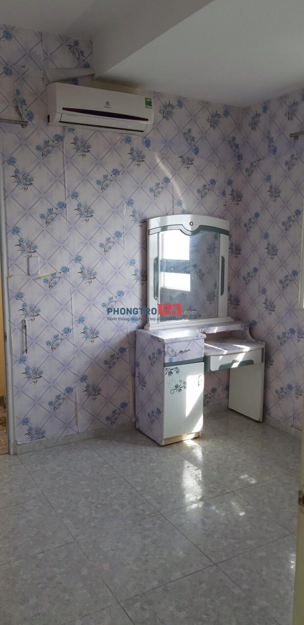 Cho thuê chung cư khang gia gò vấp 76m2 , 2PN, 2WC giá 6,5 tr/ tháng