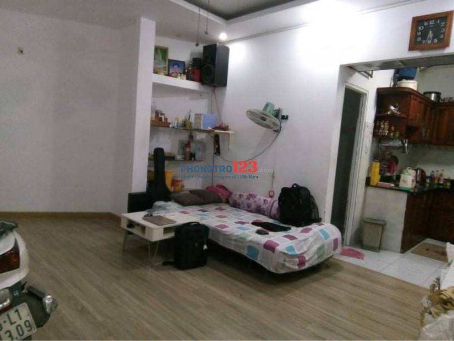 Cho thuê nguyên căn nhà 1 trệt 1 lầu 80m2 hẻm 220 Hoàng Hoa Thám, Bình Thạnh