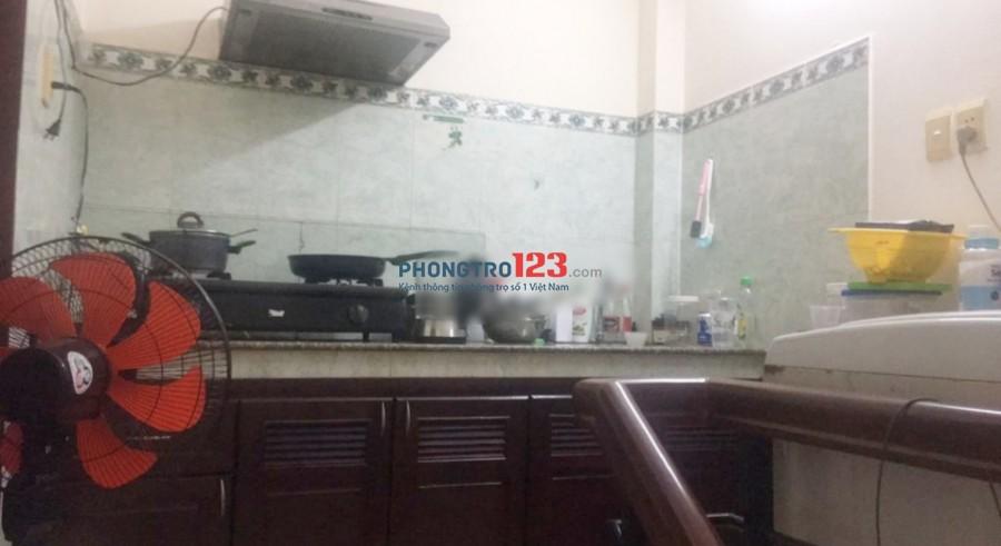 Cho thuê tầng 3 và 4 tòa nhà vừa ở vừa kinh doanh tại Hẻm 16 Nguyễn Thiện Thuật P2 Q3