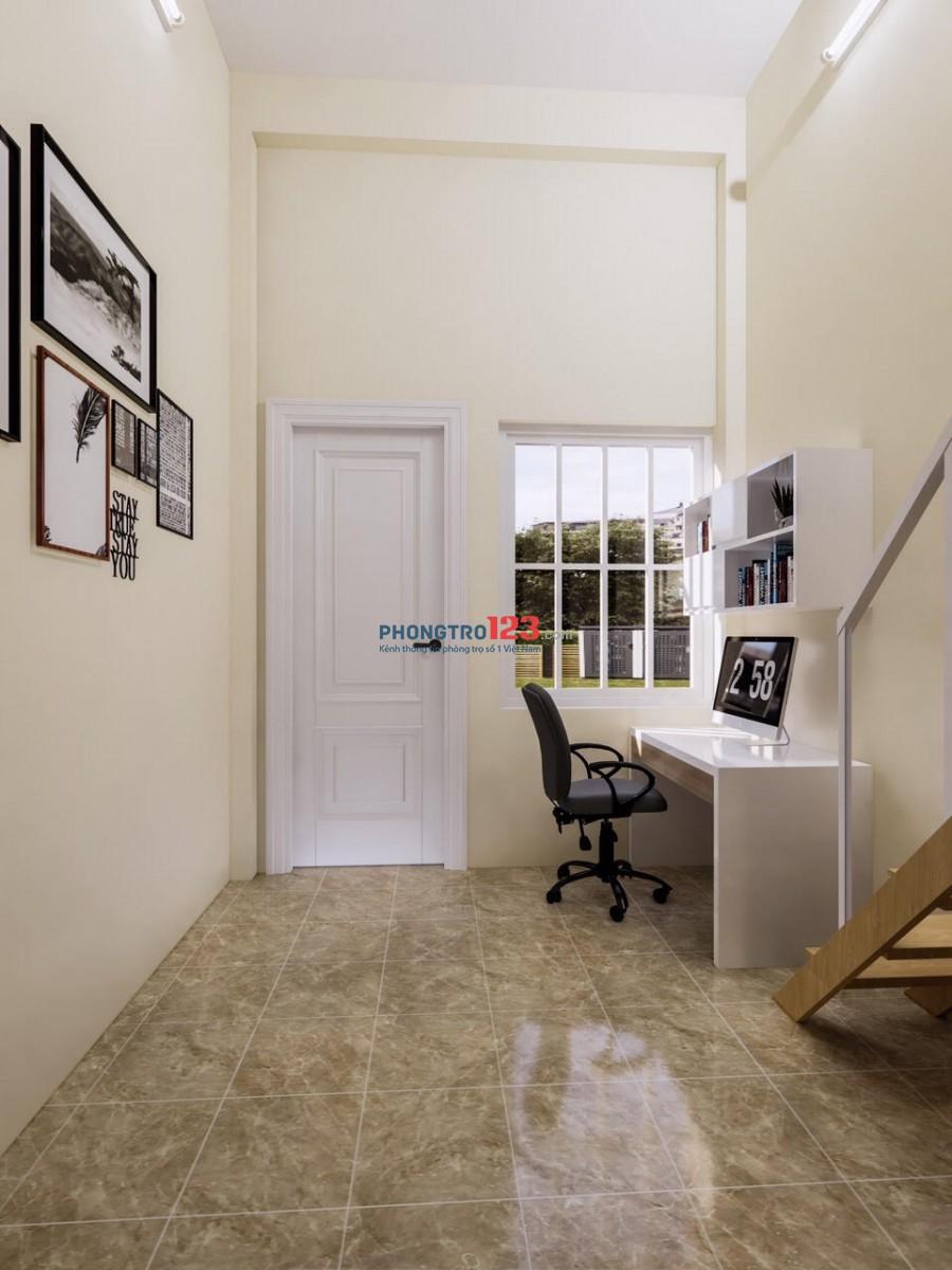 Cho thuê căn hộ mini mới xây sạch sẽ, có gác xếp rộng (gồm 9 phòng)