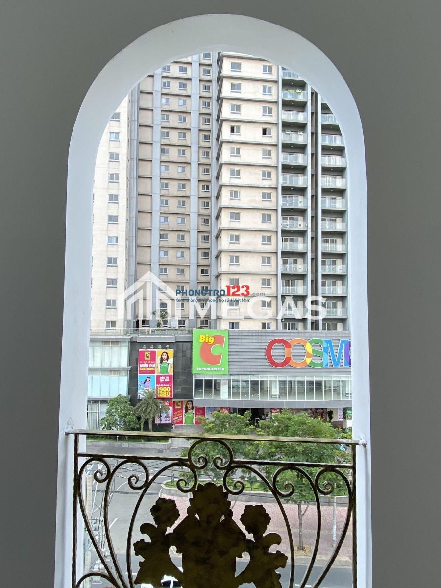 Phòng trọ Máy Lạnh ngay Big C Nguyễn Thị Thập, có gác giá rẻ mới xây 100%