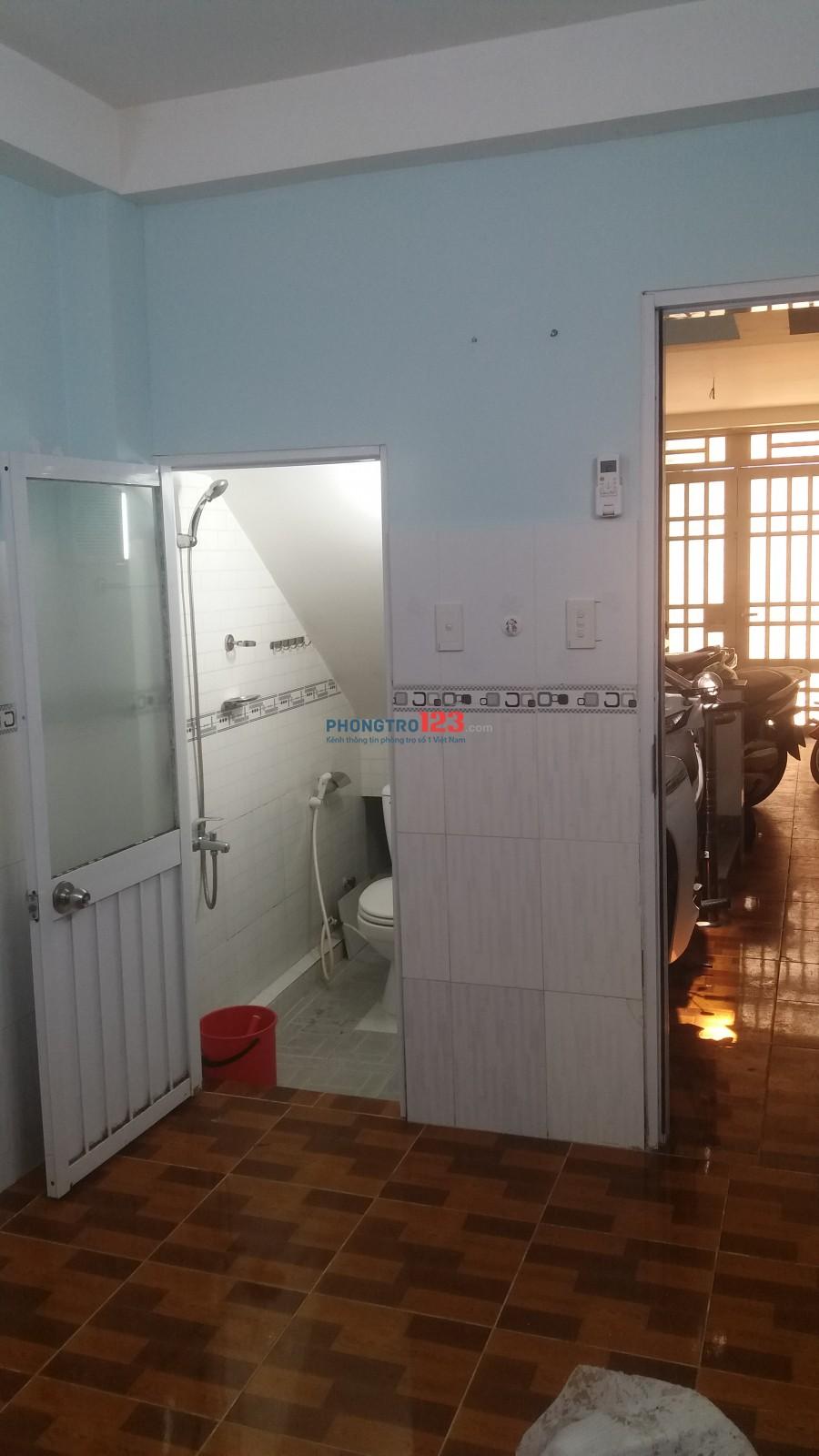 Phòng trọ Q3; 16 m2, 2,8 triệu/tháng