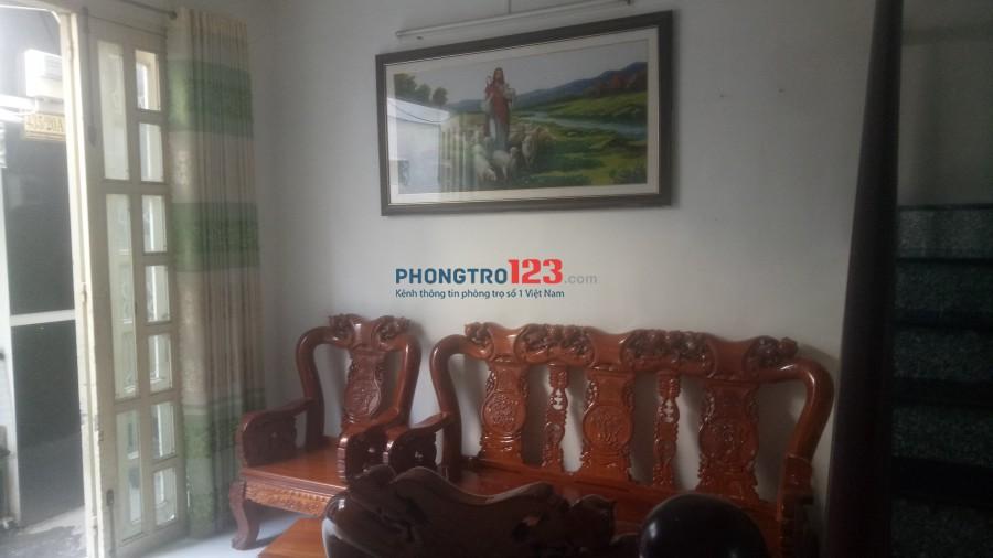 Cho thuê nhà nguyên căn, khách vào ở liền tại Phường Tân Thuận Đông Quận 7