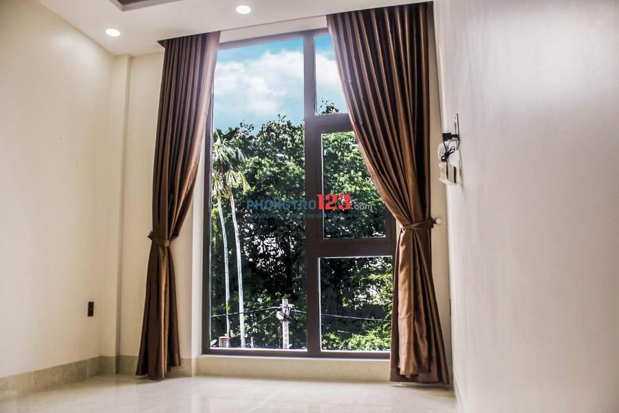 Phòng ĐẸP, MỚI, CỬA SỔ LỚN, TỦ QUẦN ÁO- gần ĐH Văn Lang, FPT, Nguyễn Thượng Hiền, Bình Thạnh