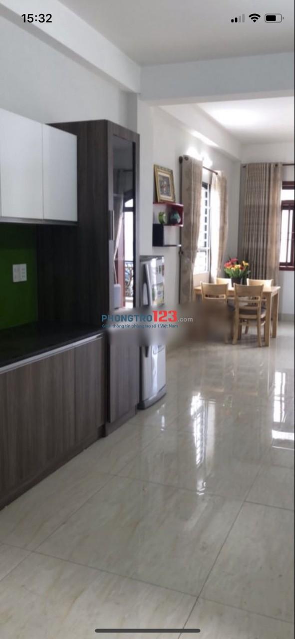 Cho thuê căn hộ dịch vụ 60m2 đầy đủ nội thất Nhà mặt tiền 52 Trần Văn Quang P10 Q Tân Bình