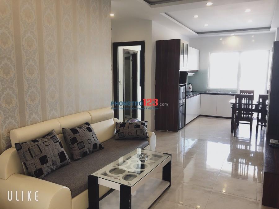 Căn hộ Mường Thanh Viễn Triều view biển, 2 phòng ngủ, 2 wc, 5 triệu/tháng