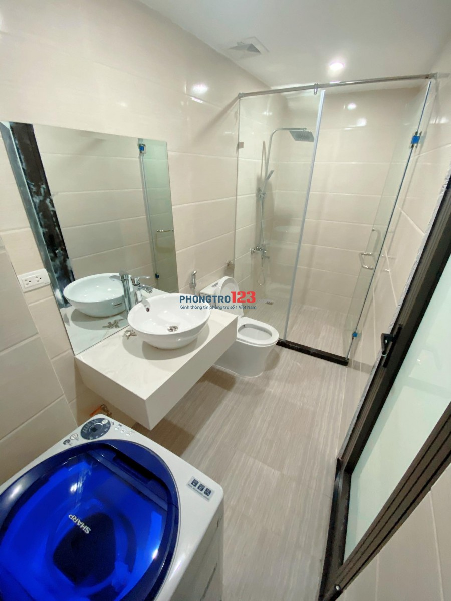 Cho thuê căn hộ CCMN 1 PN 1PK mới đẹp sang trọng tại trung tâm quận Cầu Giấy