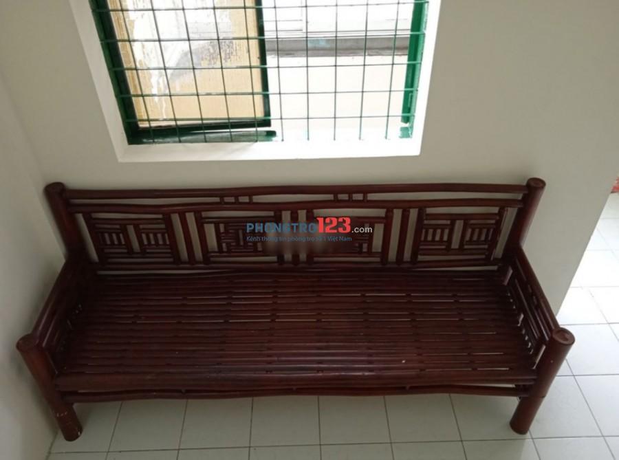 Chính chủ cho thuê căn hộ Cư Xá RaĐa Đường số 10 P13 Q6 DT 61m2 có 2pn giá 7tr/th