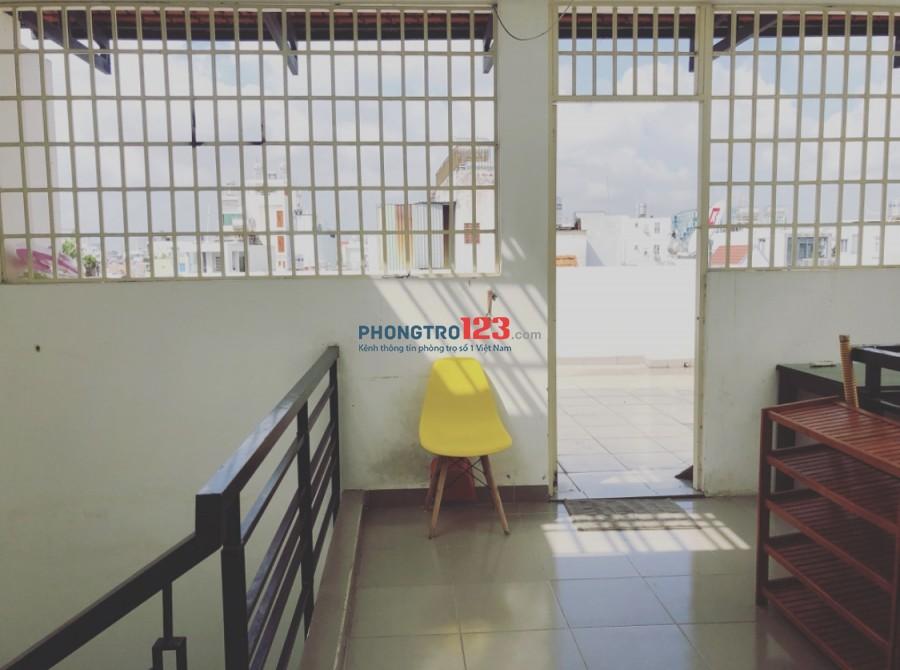 Cho thuê phòng tại Lê Văn Sỹ Quận 3, có máy lạnh, nhà an ninh yên tĩnh