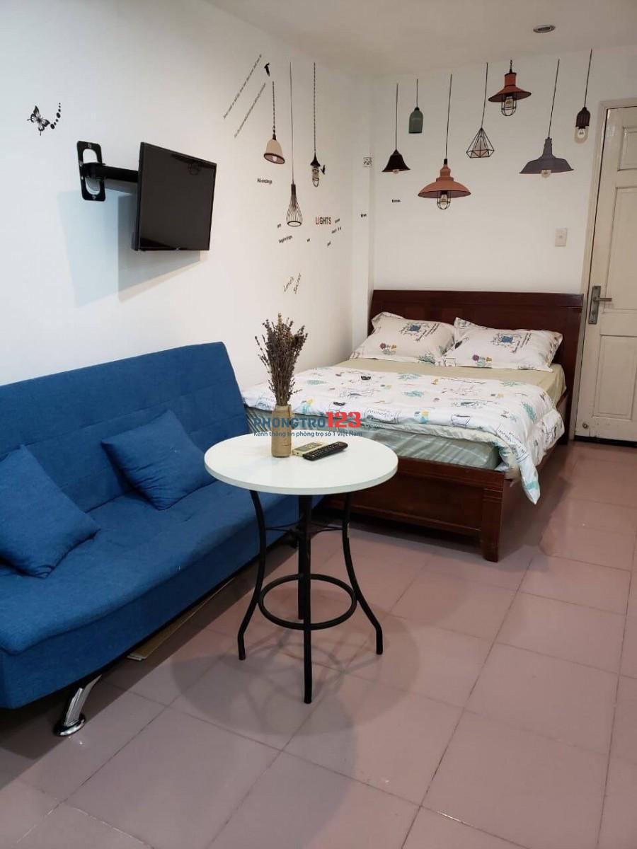 Cho thuê 1 phòng duy nhất Full nội thất tại 258/82 Trần Hưng Đạo P Nguyễn Cư Trinh Q1