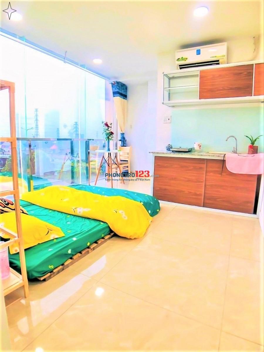 Phòng trọ quận 12, full nội thất, VIEW CỰC ĐẸP như hình, Giờ giấc tự do, gần ĐH Nguyễn Tất Thành, Văn Hiến