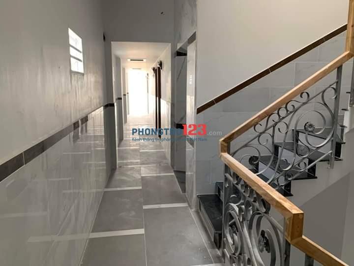 Phòng trọ quận Tân Phú có gác 25m2 thoáng mát