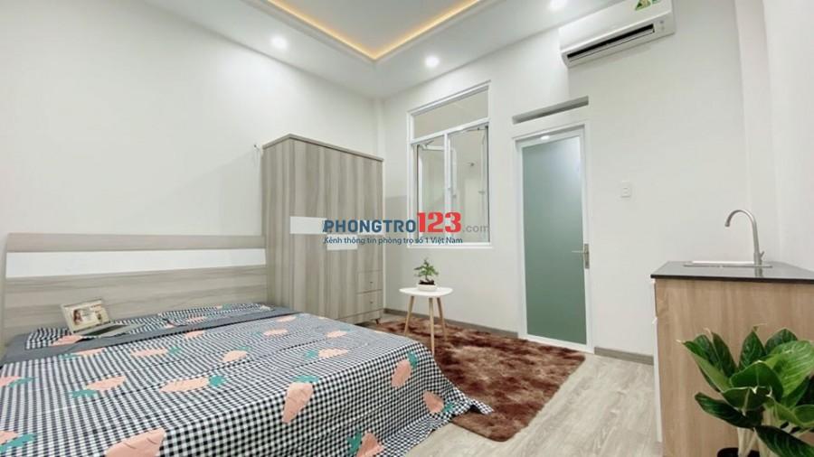 Nhà cho thuê mới 100% ở NGuyễn Du Gò Vấp