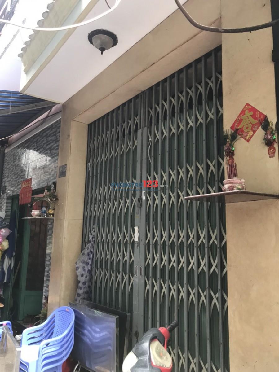 Chính chủ cho thuê nhà nguyên căn 1 trệt 3 lầu 3pn tại 894/5 Võ Văn Kiệt P5 Q5 giá 11tr/tháng