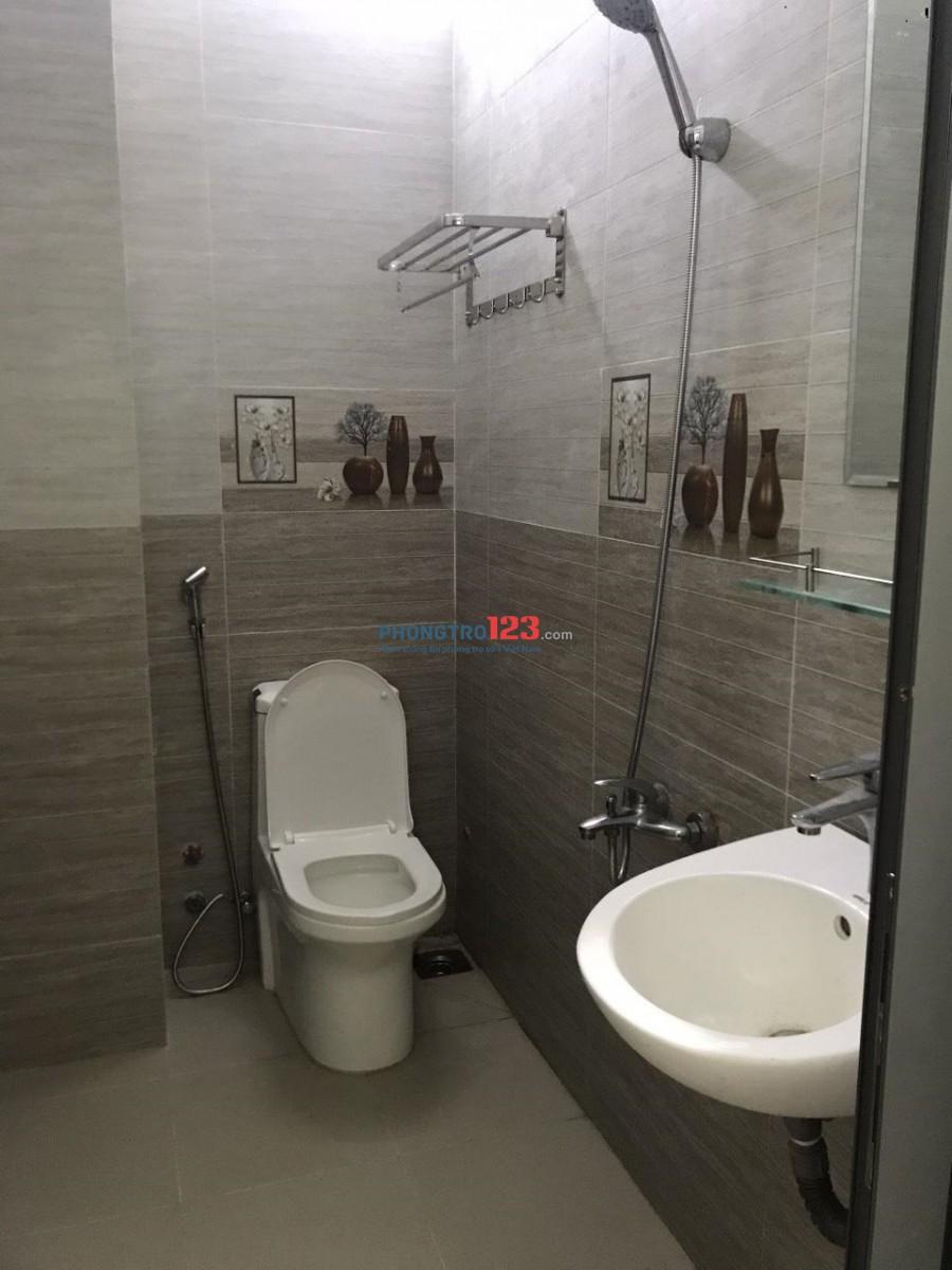 Phòng trọ cao cấp mới xây mặt tiền đường Cầu Xéo, có máy lạnh, thang máy, giờ tự do, bảo vệ 24/7_ giá sv