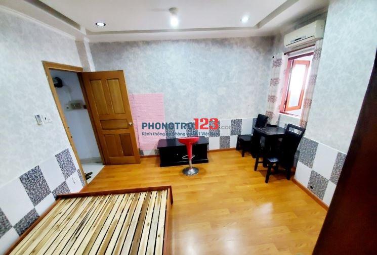 Căn hộ mini đầy đủ nội thất, kế Hutech, Ngoại thương Hàng Xanh 5TR5
