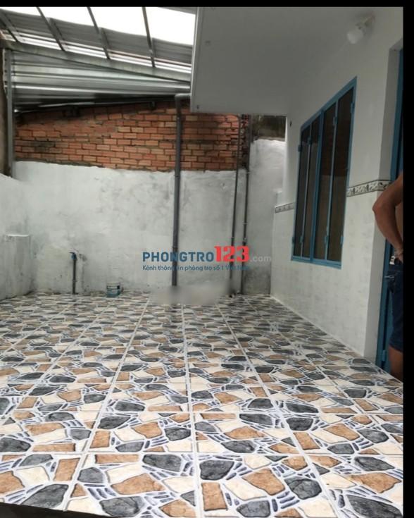 Cho thuê nhà nguyên căn 5x11 tại hẻm 434 Huỳnh Tấn Phát P Bình Thuận Q7 giá 5tr/th