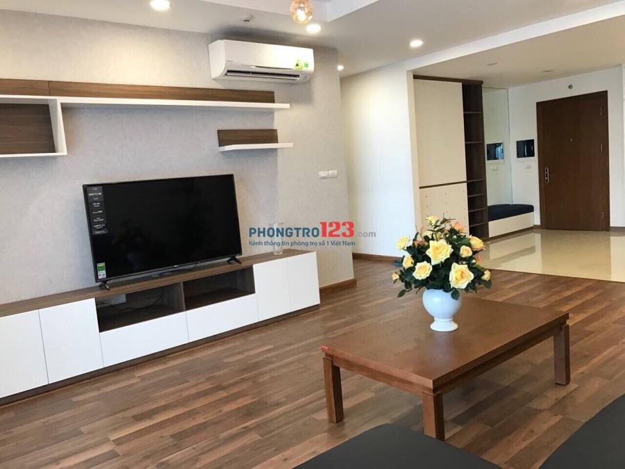 Cho thuê căn hộ 2PN, 2WC full đồ Goldmark City giá chỉ 9tr/ tháng. LH: 0944.63.9933