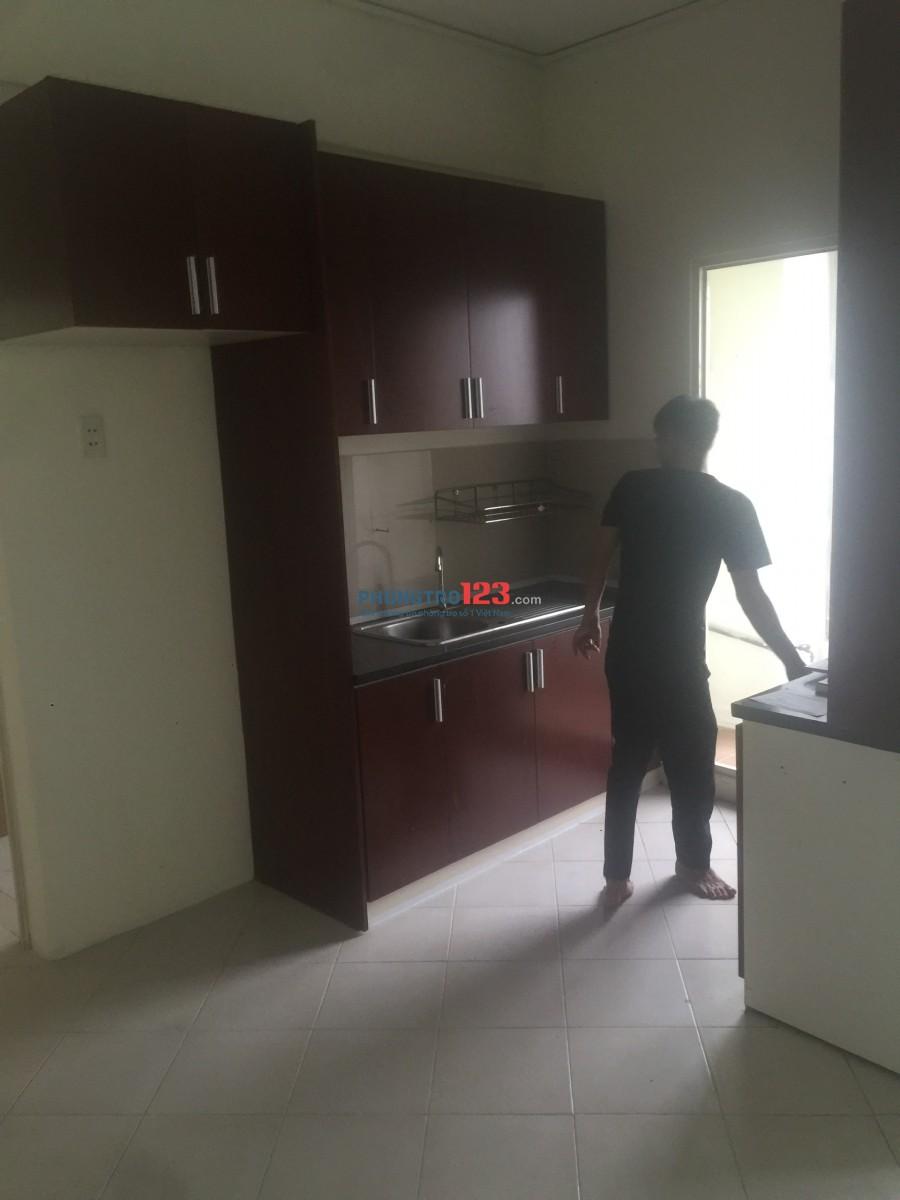 Cho thuê căn hộ giá rẻ, đầy đủ nội thất