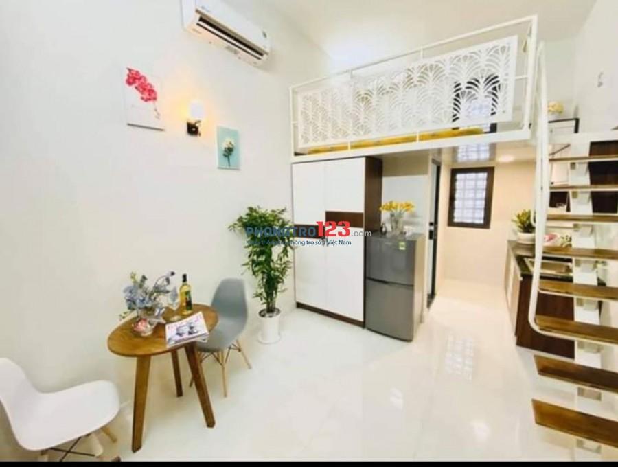 Cho thuê căn hộ đường Trường Chinh ngay Etown giá từ 4tr5-5tr2 tùy nội thất