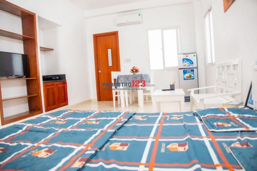 Cho thuê căn hộ Tân Bình, đầy đủ nội thất cao cấp 30m2, sạch sẽ-an ninh [GIÁ TỐT]