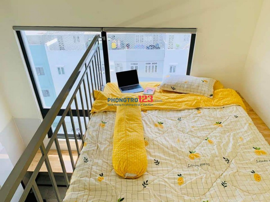 Cho thuê căn hộ mini Tân Bình giá rẻ,đầy đủ tiện nghi và nội thất giá từ 3tr9/tháng.Giờ giấc tự do