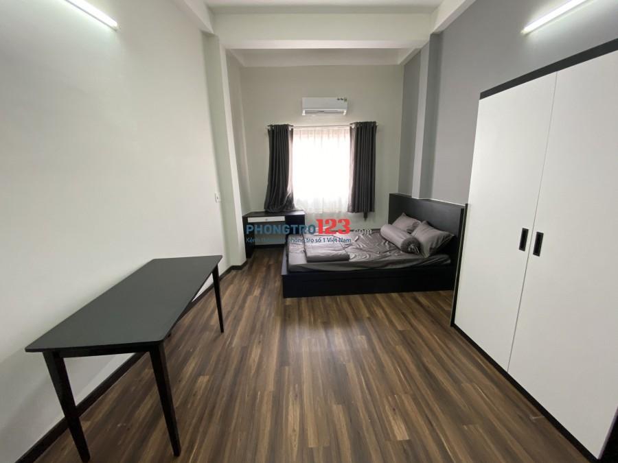 Nhà trọ cao cấp, full nội thất ( chổ để xe, full nội thất: bàn ghế, giường, bếp, máy lạnh...)