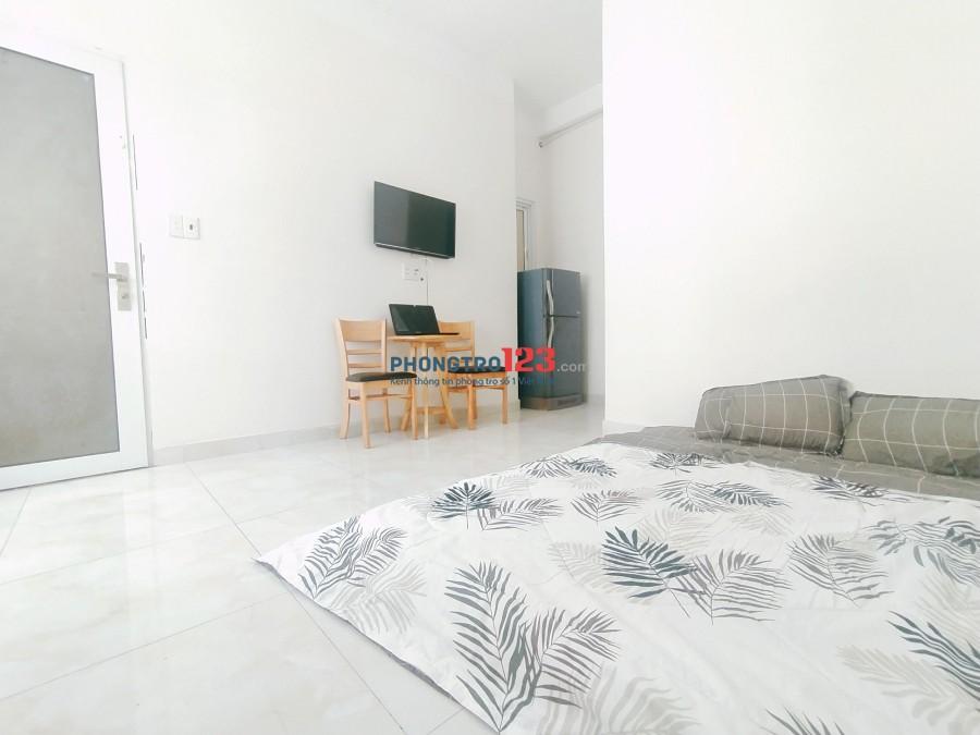 Phòng trọ cao cấp mới gần Sân Bay Full nội thất giá rẻ .