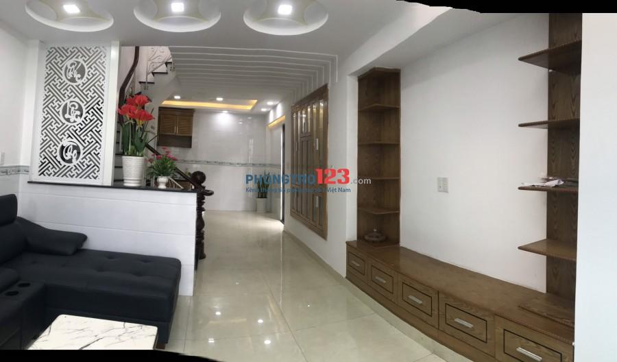 Nhà trọ cho thuê, quận Gò Vấp mới xây giá rẻ