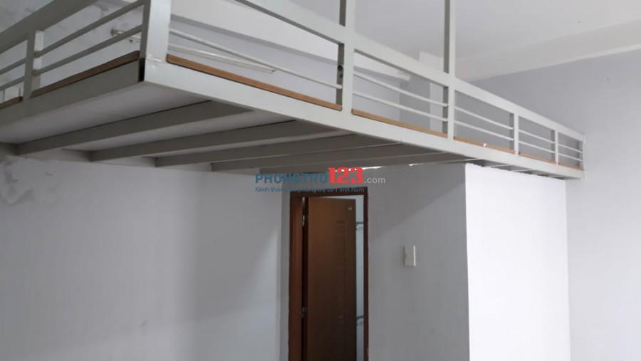 Cho thuê phòng quận Tân Bình 25m2 giá 2tr9 có gác lững