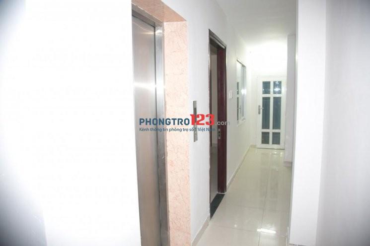 Bình Thạnh : 2.5TR phòng mặt tiền, THANG MÁY, GIỜ GIẤC TỰ DO, Gần Ung Văn Khiêm, Nguyễn Xí