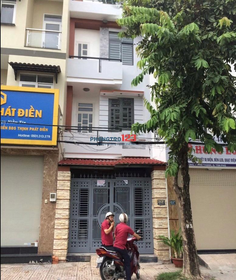 Chính chủ cho thuê mặt bằng mặt tiền 213C Hiền Vương P Phú Thạnh Quận Tân Phú giá 8tr/th