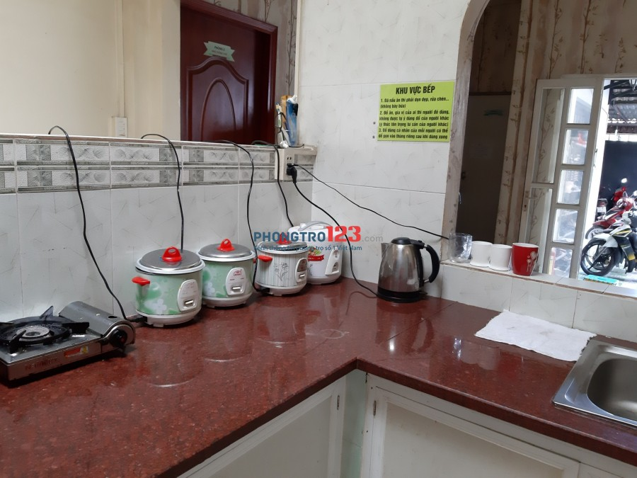 KTX Phạm Hùng có máy lạnh, máy nước nóng, máy giặt chỉ 600k
