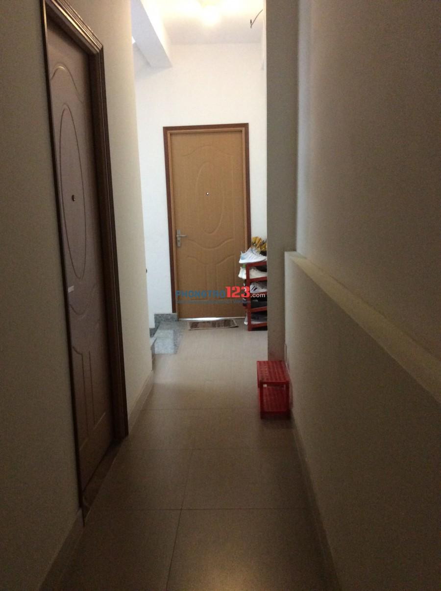 Phòng trọ nhà mới cho thuê, giờ giấc tự do, đường Đặng Thuỳ Trâm, phường 13, quận Bình Thạnh
