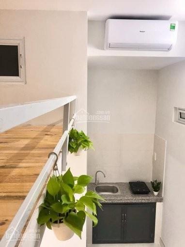 Giảm 500k/th, Phòng mới xây, mới 100%, 35m2, có gác, có máy lạnh, tủ lạnh , máy giặt, Xe, Wife,Rác, Miễn phí