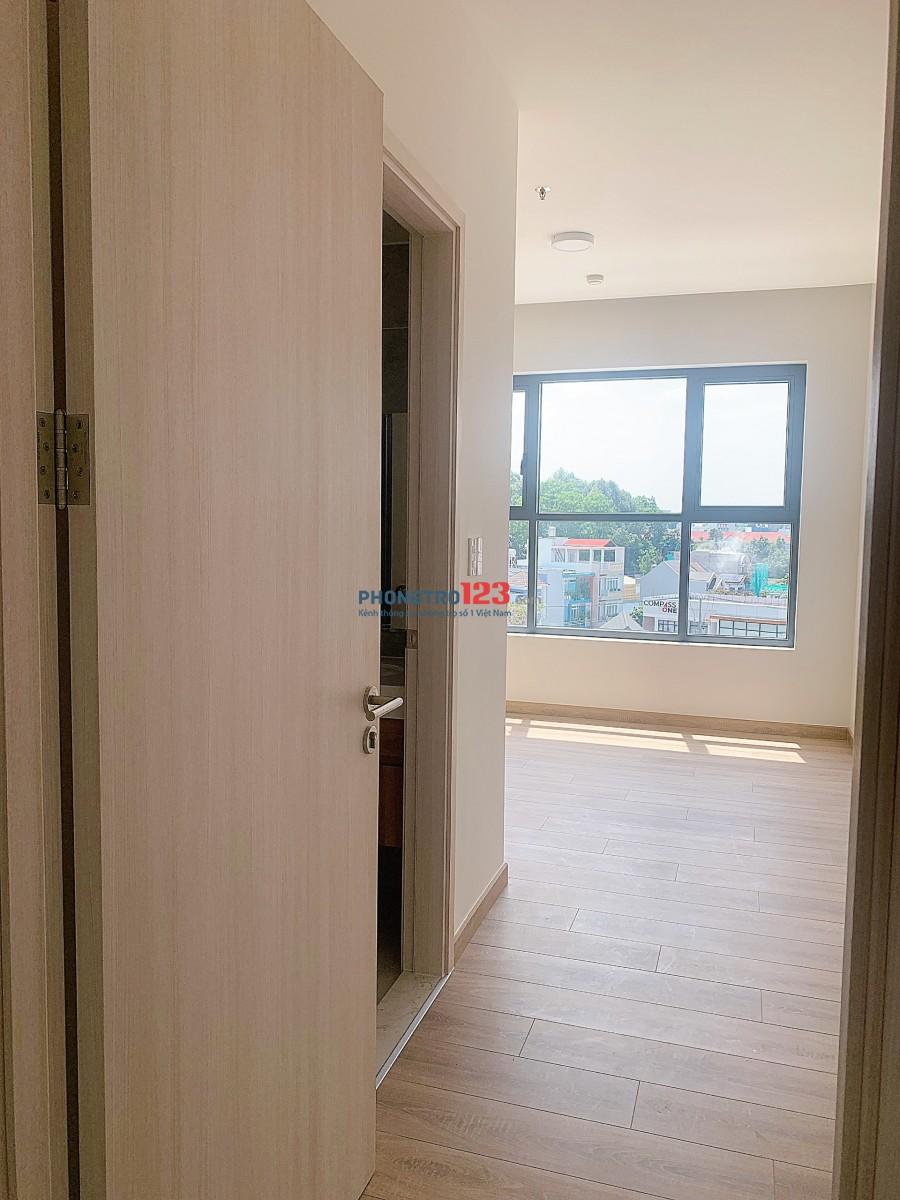Cho thuê căn hộ cao cấp Compass One trung tâm TP. Thủ Dầu Một. ( DT: 70m, 2 PN ). Giá: 11 triêu/tháng.