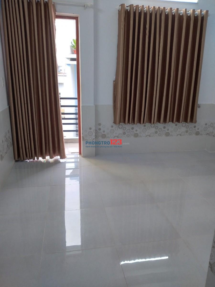 Phòng cho thuê ở Phan Huy Ích Gò Vấp, giá 2tr, tiện ích đầy đủ, có nước nóng - lạnh